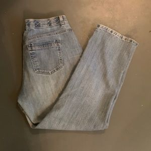Women's Jeans faded blue in good shape.